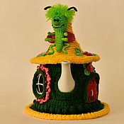 Для дома и интерьера ручной работы. Ярмарка Мастеров - ручная работа Букашка в сказочном домике. Handmade.