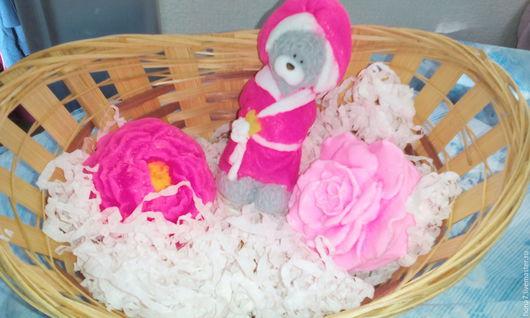Мыло ручной работы. Ярмарка Мастеров - ручная работа. Купить Мыло ручной работы  розовые сны. Handmade. Комбинированный