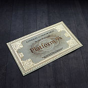 Сувениры и подарки handmade. Livemaster - original item A train ticket for the Hogwarts Express. Handmade.