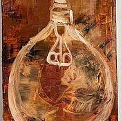 Картины ручной работы. Ярмарка Мастеров - ручная работа Картина маслом Свет. Handmade.