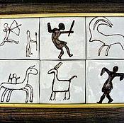 Картины и панно handmade. Livemaster - original item Ceramic panel