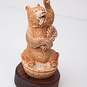Для дома и интерьера ручной работы. Ярмарка Мастеров - ручная работа Медведь в бане. Handmade.