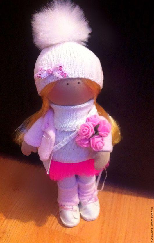 Коллекционные куклы ручной работы. Ярмарка Мастеров - ручная работа. Купить Малышка Аделия. Handmade. Розовый, малютка, коллекционная кукла