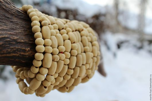 """Браслеты ручной работы. Ярмарка Мастеров - ручная работа. Купить Деревянный браслет """"Гайя"""". Handmade. Браслет, эко стиль, дерево"""