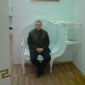 Для дома и интерьера ручной работы. Ярмарка Мастеров - ручная работа Стоячий диван. Handmade.