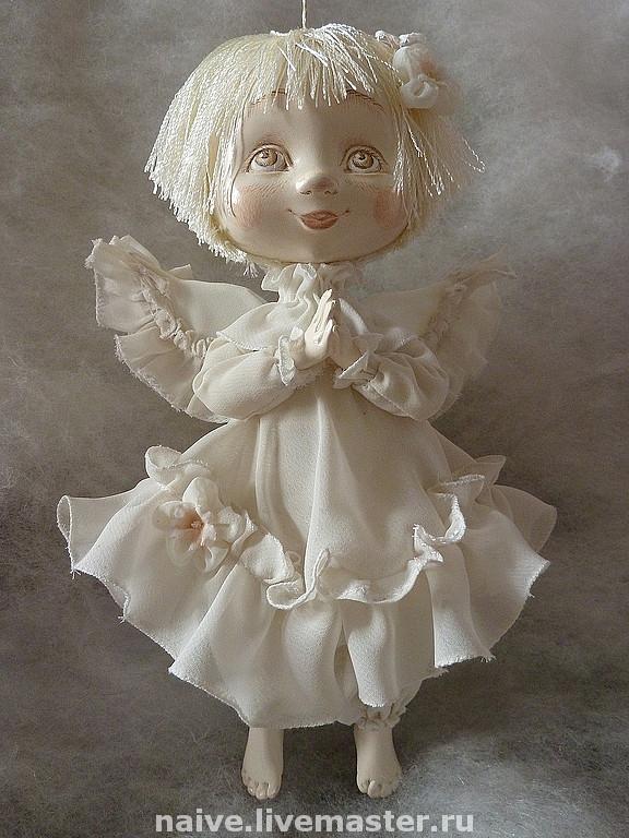 Авторская кукла ангел своими руками 47