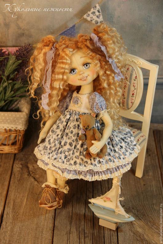 Коллекционные куклы ручной работы. Ярмарка Мастеров - ручная работа. Купить Шурочка ,милая Саша . Кукла авторская . Кукла ручной работы .. Handmade.