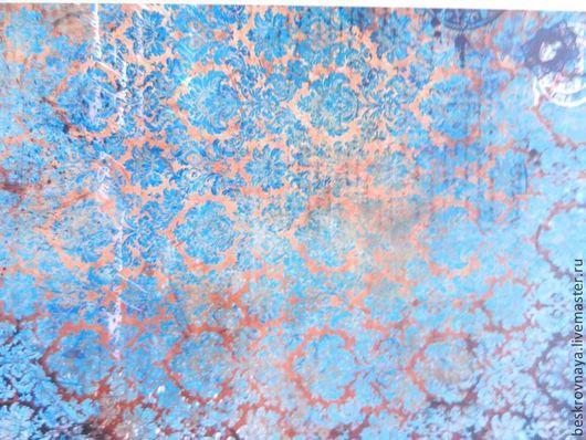 Декупаж и роспись ручной работы. Ярмарка Мастеров - ручная работа. Купить Декупажная карта 2. Handmade. Карта для декупажа, фон