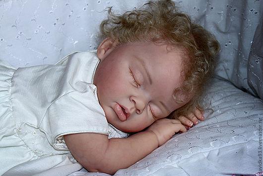 Куклы-младенцы и reborn ручной работы. Ярмарка Мастеров - ручная работа. Купить кукла-ребор Евочка из молда Ariella. Handmade.