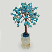 Цветы и флористика handmade. Livemaster - original item Turquoise tree