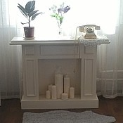 Для дома и интерьера ручной работы. Ярмарка Мастеров - ручная работа 113. Камин декоративный. Handmade.