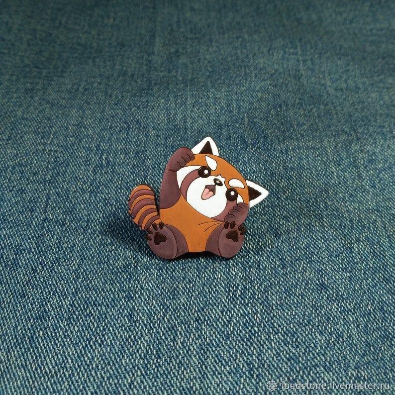 The icon is a Red Panda, Badge, Lodeynoye Pole,  Фото №1