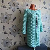 """Одежда ручной работы. Ярмарка Мастеров - ручная работа Кардиган""""Мятные пупырышки"""". Handmade."""