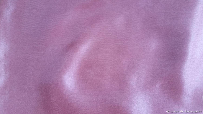 Шелковый палантин однотонный Брусничный Розовый, Материалы, Москва, Фото №1