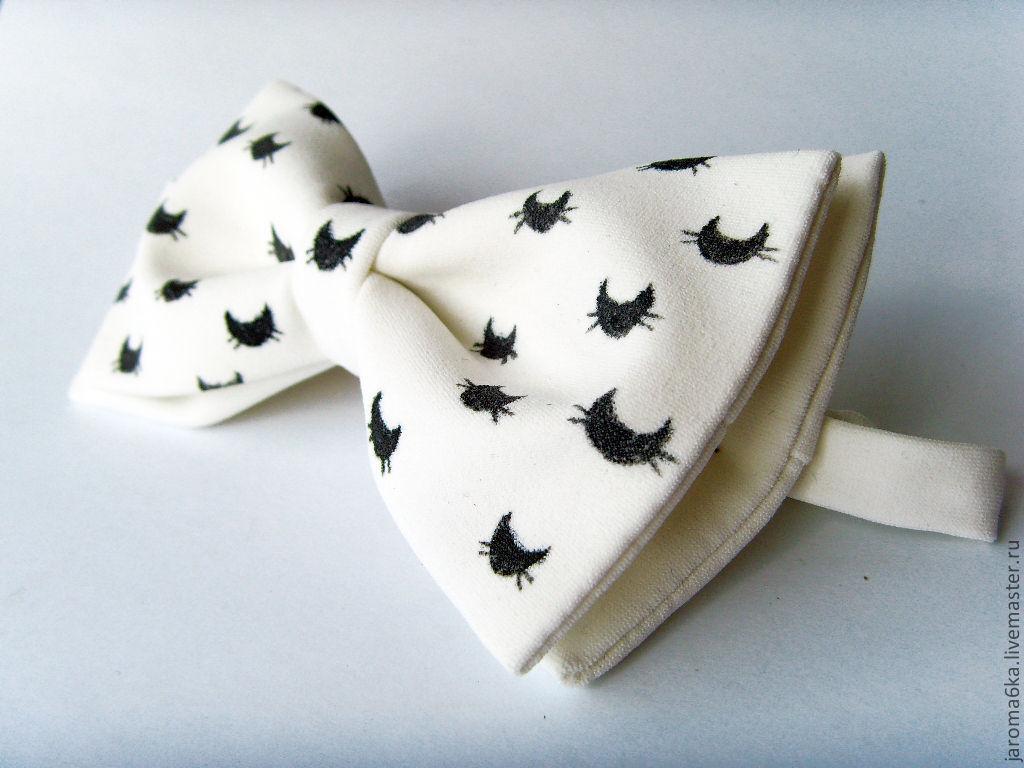 Коты на галстук бабочку