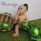 Сувениры и подарки ручной работы. Ярмарка Мастеров - ручная работа Капуста, кочан капусты для детской, семейной, свадебной фотосессии. Handmade.
