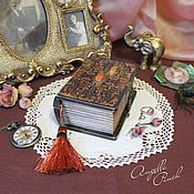 """Для дома и интерьера ручной работы. Ярмарка Мастеров - ручная работа """"Foliant""""  - мини-фолиант. Handmade."""