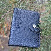 Канцелярские товары handmade. Livemaster - original item Passport cover genuine leather. Handmade.