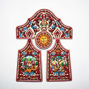 Русский стиль handmade. Livemaster - original item Based on Boretskaya painting (set of boards). Handmade.
