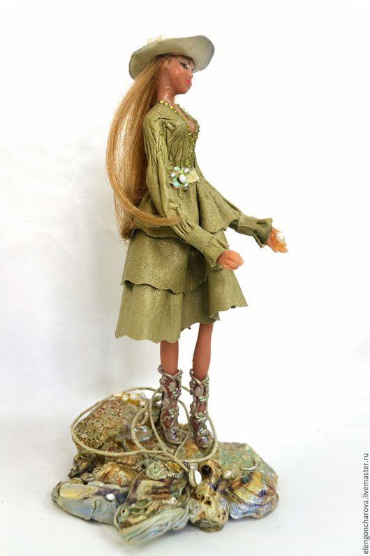 Портретные куклы ручной работы. Ярмарка Мастеров - ручная работа. Купить Волшебная кукла ручной работы. Handmade. Зеленый