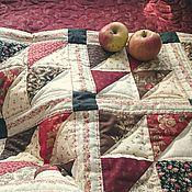Для дома и интерьера ручной работы. Ярмарка Мастеров - ручная работа Лоскутное покрывало, дорожка Ярилин день комплект пэчворк. Handmade.
