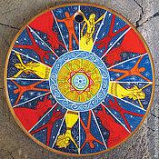 Открытки ручной работы. Ярмарка Мастеров - ручная работа Открытка Мир вокруг похож на круг. Handmade.