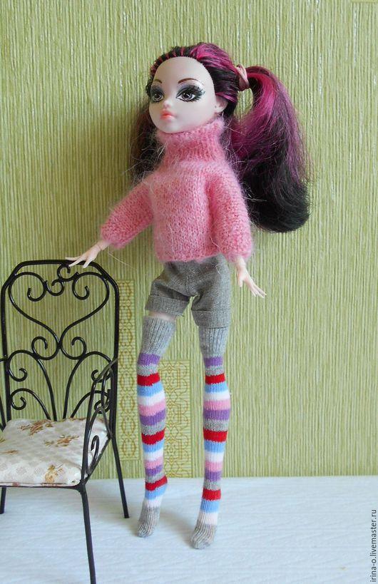 Одежда для кукол ручной работы. Ярмарка Мастеров - ручная работа. Купить Комплект для кукол типа Monster High, Ever After High, Marico. Handmade.