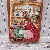Посуда handmade. Livemaster - original item Board for feeding and cutting. Handmade.