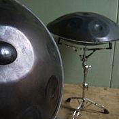 Музыкальные инструменты ручной работы. Ярмарка Мастеров - ручная работа Overtone Hand Pan. Handmade.