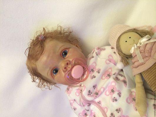 Куклы-младенцы и reborn ручной работы. Ярмарка Мастеров - ручная работа. Купить Кукла реборн Крисси-3. Handmade. Бежевый