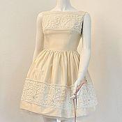 Одежда ручной работы. Ярмарка Мастеров - ручная работа Шелковое платье. Handmade.