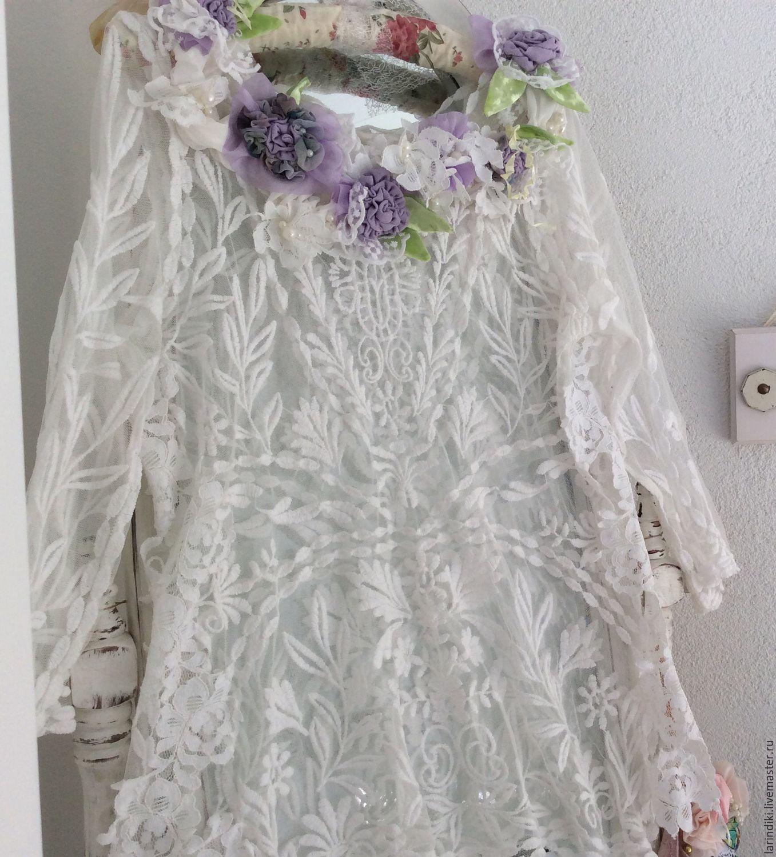 Купить кружевную блузку в интернет магазине недорого