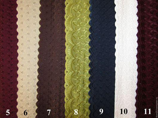 Шитье ручной работы. Ярмарка Мастеров - ручная работа. Купить Батист шитье вышивка(сплошная) арт.163 КТВ (Корея). Handmade.