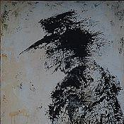 """Картины и панно ручной работы. Ярмарка Мастеров - ручная работа """"Гость"""". Handmade."""
