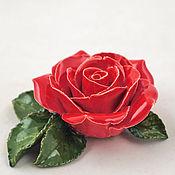 Для дома и интерьера ручной работы. Ярмарка Мастеров - ручная работа Керамические розы для интерьера средние. Handmade.