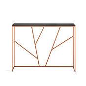 Столы ручной работы. Ярмарка Мастеров - ручная работа Консоль Ohara copper черный дуб матовый лак. Handmade.