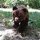 Игрушки животные, ручной работы. Медведь.. Юлия Тарасова (masters-family). Ярмарка Мастеров. Войлочная игрушка