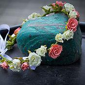 Диадемы ручной работы. Ярмарка Мастеров - ручная работа Венок ручной работы из цветов. Handmade.