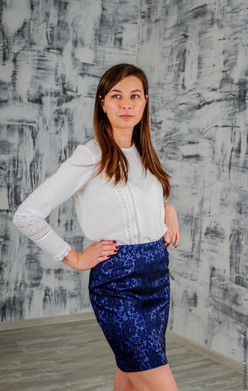 Skirt womens blue black, Skirts, Novosibirsk,  Фото №1