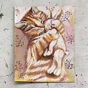 Картины и панно ручной работы. Ярмарка Мастеров - ручная работа Уютный октябрь. Handmade.