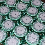 Подарки к праздникам ручной работы. Ярмарка Мастеров - ручная работа Бонбоньерка мятнаяна свадьбу. Handmade.