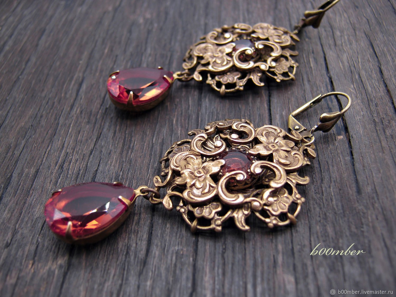 Set of earrings pendant 'Dubrava'. Sultanites, Jewelry Sets, Protvino,  Фото №1