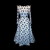 """Одежда ручной работы. Ярмарка Мастеров - ручная работа Платье""""Cats"""" с поясом в комплете. Handmade."""