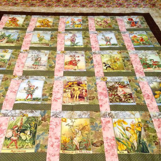 Пледы и одеяла ручной работы. Ярмарка Мастеров - ручная работа. Купить Лоскутное   одеяло Розовые  феи. Handmade. Лоскутное одеяло
