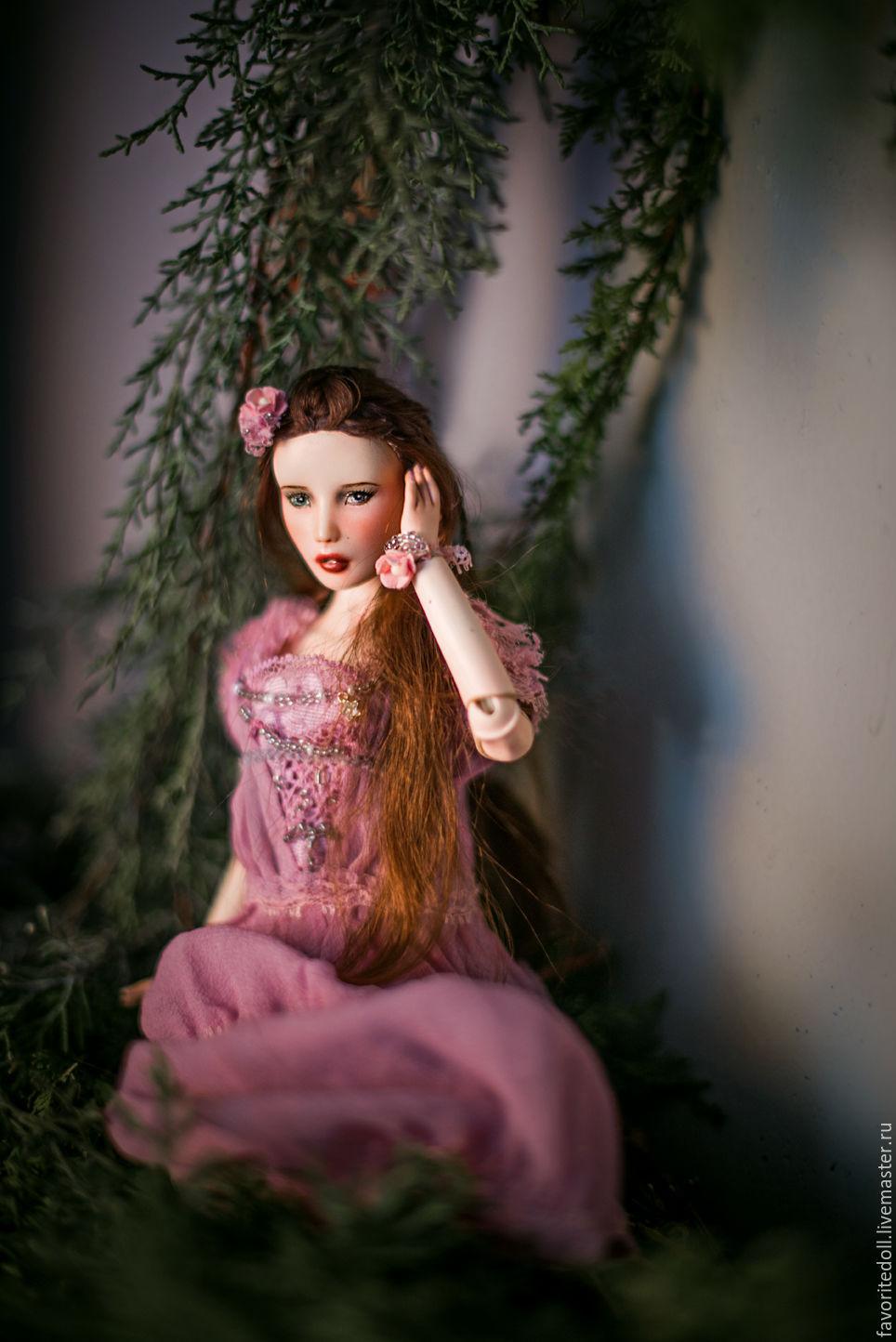 Шарнирная кукла. Лиза, Куклы, Севастополь, Фото №1