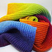 handmade. Livemaster - original item Scarf knitting. Scarf pure wool. Handmade.