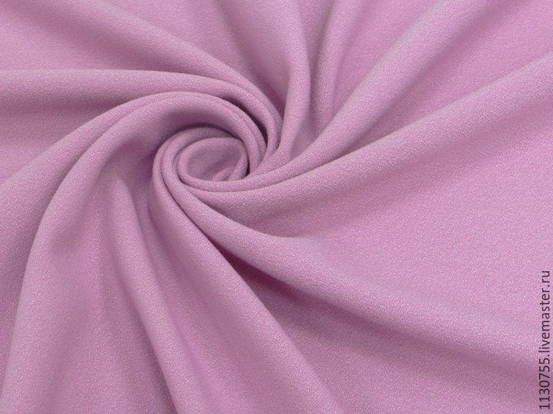 Шитье ручной работы. Ярмарка Мастеров - ручная работа. Купить ткань вискоза  креп стрейч розовая ba8d0f496e600