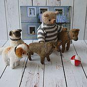 Куклы и игрушки ручной работы. Ярмарка Мастеров - ручная работа Собачка ТАКСА. Handmade.