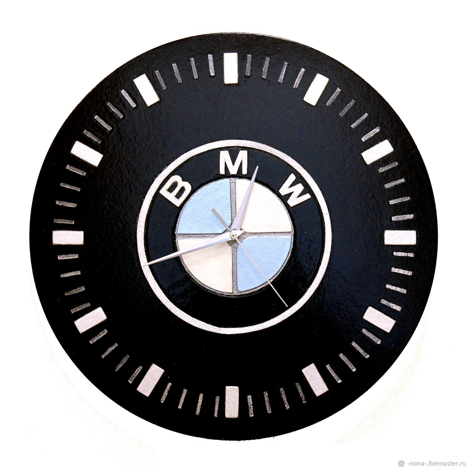 Watch Mens Bmw Wall Mounted Large Round Shop Online On Livemaster