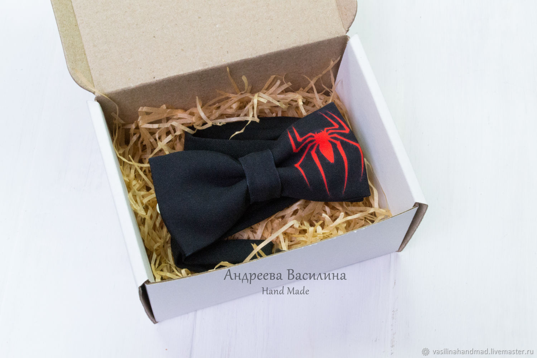 fbd12297caa0 Ties & Bow Ties handmade. Livemaster - handmade. Buy Bow tie  Spiderman/spider ...